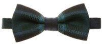 Ready Made Adjustable Tartan Bow Tie - Worsted Wool