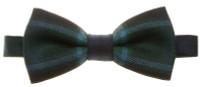 Ready Made Adjustable Tartan Bow Tie - Worsted Wool