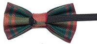 Childs Tartan Bow Tie - Worsted Wool