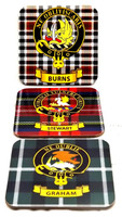 Clan Crest Coasters