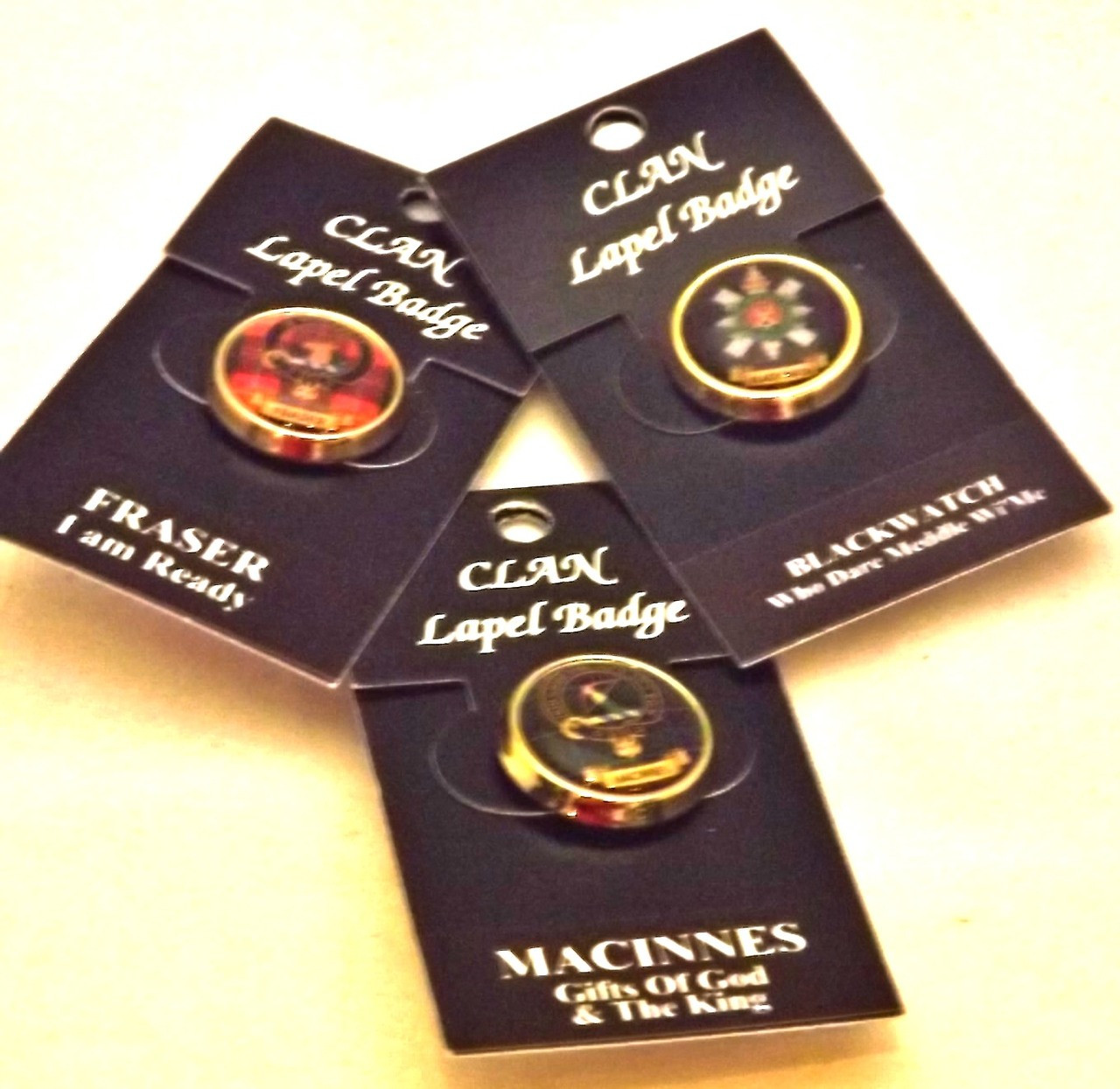 Nicolson Scottish Clan Crest Lapel Pin Badge