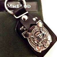 Art Pewter Clan Crest Key Ring