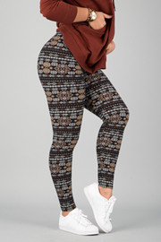 Pattern Print Leggings || 13