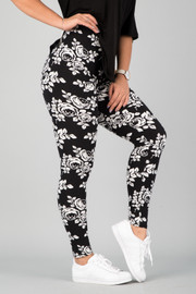 Pattern Print Leggings || 24