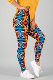 Pattern Print Leggings || 27