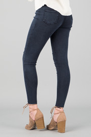 DISTRESS JEGGINS || NAVY