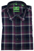 Forsyth of Canada Classic Fit Non-Iron Long Sleeve Multi Check Sport Shirt 8044-SGA