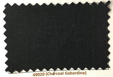 Charcoal Gabardine