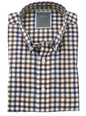 Enro Non-Iron Ripton Check Big & Tall Sportshirt