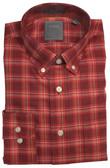 Enro Non-Iron Plingham Plaid Button Down Collar Sportshirt