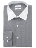 Enro Non-Iron Spread Collar Darrington Check Dress Shirt