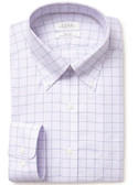 Enro Non-Iron Button Down Collar Friday Harbor Check Dress Shirt