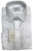Enro Non-Iron Spread Collar Woburn Dobby Solid Check Dress Shirt