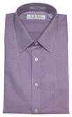 Enro Non-Iron Spread Collar Lavander Sharkskin Big & Tall Dress Shirt