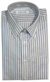 Enro Non-Iron Spread Collar Multi Stripe Big & Tall Dress Shirt