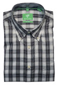 Forsyth of Canada Classic Fit Non-Iron Long Sleeve Multi Check Sport Shirt 8402-SHW