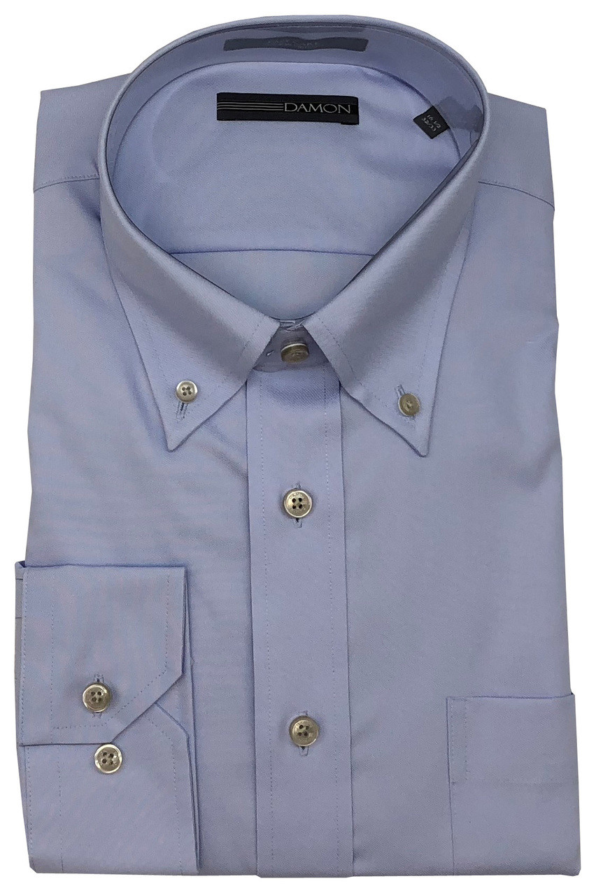 Enro Mens Big and Tall Non-Iron Big /& Tall Pinpoint Oxford Dress Shirt