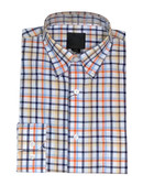 Fusion Sunshine Oxford Check Sportshirt
