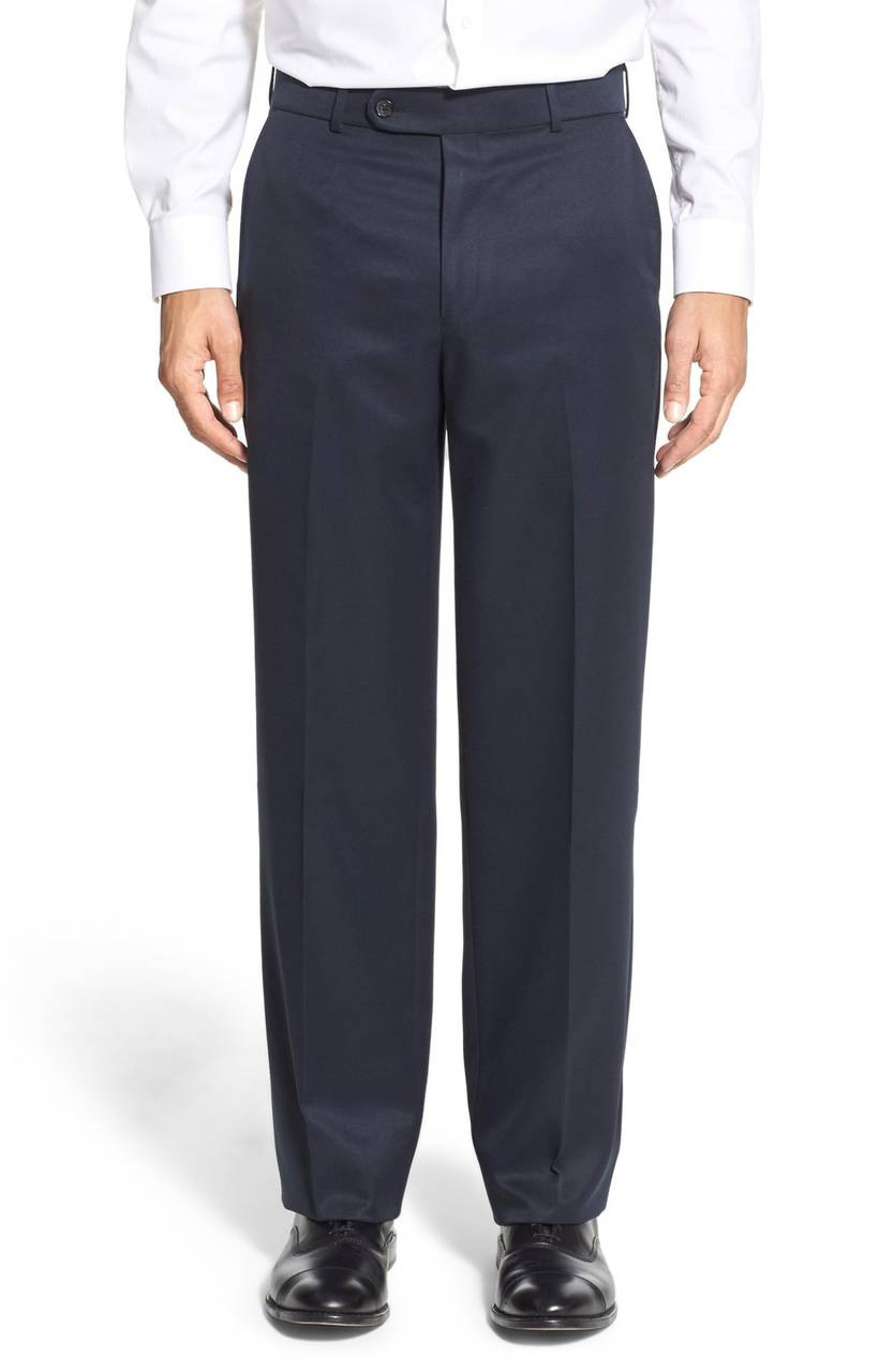 Enro by Ballin Flat Front Stretch Calvary Microfiber Pants