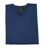 FX Fusion Solid Color V-Neck Big Sweater - Style B9037