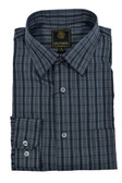 Fusion Charcoal Multi Check Tall Size Sportshirt