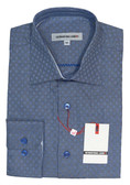 International Laundry Spread Collar Modern Fit Sportshirt - 9399