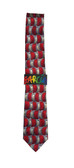 Jerry Garcia 'Virtual Reality Ape' Silk Tie
