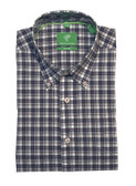 Forsyth of Canada Classic Fit Non-Iron Long Sleeve Multi Check Sport Shirt 8235-BBR