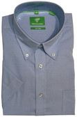 Forsyth of Canada Classic Fit Non-Iron Short Sleeve Mini Check Sport Shirt 7941S-WVB