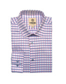 Trend by Fusion Blue Check Sportshirt