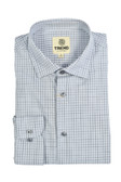 Trend by Fusion Grey Mini Check Sportshirt