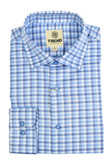 Trend by Fusion Blue Multi Check Sportshirt