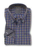 Enro Non-Iron August Mini Check Big & Tall Sportshirt