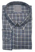 Enro Non-Iron Wrangell Multi Check Big & Tall Sportshirt