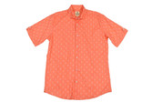 Trend by Fusion Orange Oxford Seahorse Short Sleeve Stretch Sportshirt