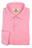 Trend by Fusion Solid Pink Stretch Modern Fit Sportshirt