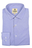 Trend by Fusion Solid Purple Stretch Modern Fit Sportshirt