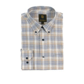 Fusion Brown Multi Overplaid Tall Size Sportshirt
