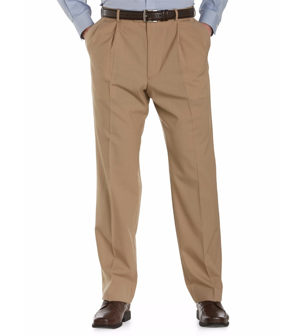 Austin Reed Self Sizer Pleated Front Pant Dick Anthony Ltd