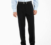 Haggar Super Flex Flat Front Men's Dress Pants