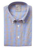 Enro Non-Iron Waltham Check Button Down Collar Sportshirt