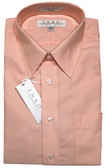 Enro Non-Iron Regular Collar Peach Dress Shirt