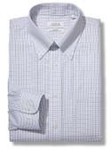 Enro Non-Iron Button Down Collar Tattersal Check Big Size Dress Shirt