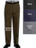 Haggar Gabardine Comfort Luxe Flat Front Men's Dress Pants