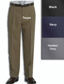 Haggar Gabardine Comfort Luxe Pleated Front Men's Dress Pants