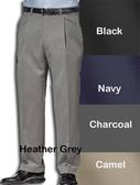 Haggar Comfort Luxe Pleated Front Men's Pants