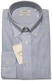 Enro Non-Iron Button Down Collar Blue Stripe Dress Shirt