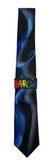 Jerry Garcia 'Wetlands II' Silk Tie
