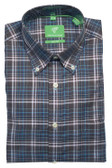 Forsyth of Canada Classic Fit Non-Iron Long Sleeve Multi Check Sport Shirt 8390-OCE