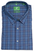 Forsyth of Canada Classic Fit Non-Iron Long Sleeve Multi Grid Sport Shirt 8526-CAD